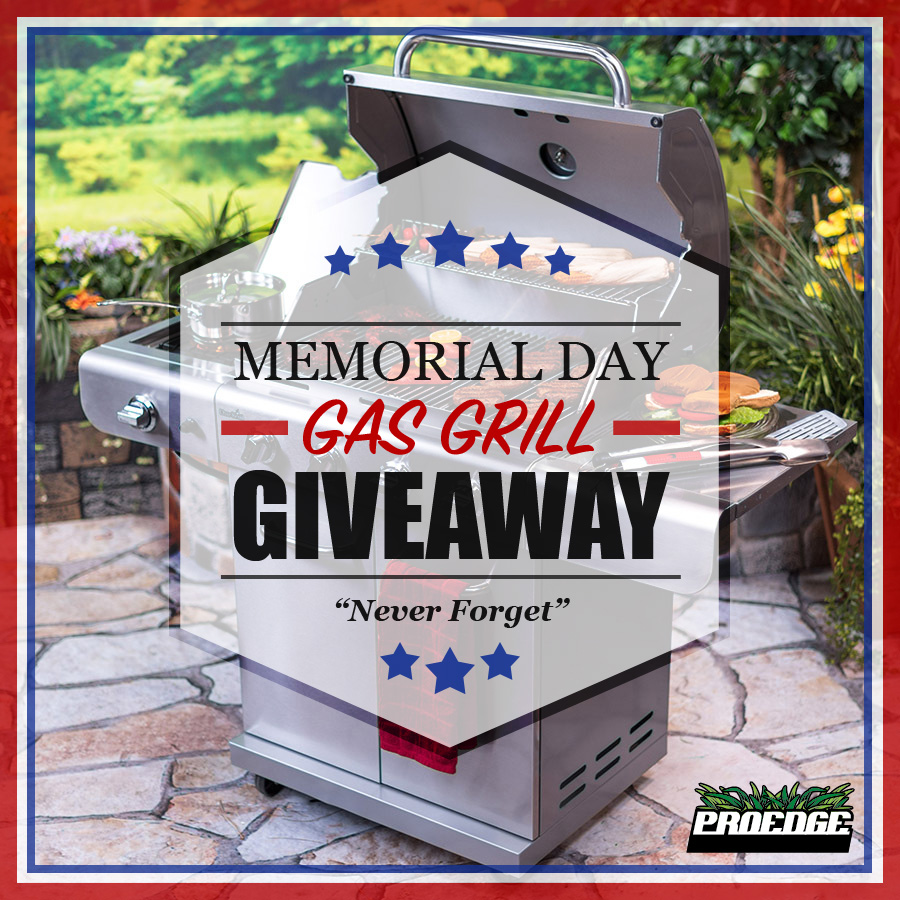 Memorial Day Gas Grill Giveaway